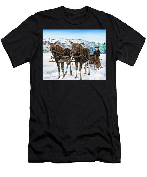 Swamp Donkies Men's T-Shirt (Athletic Fit)