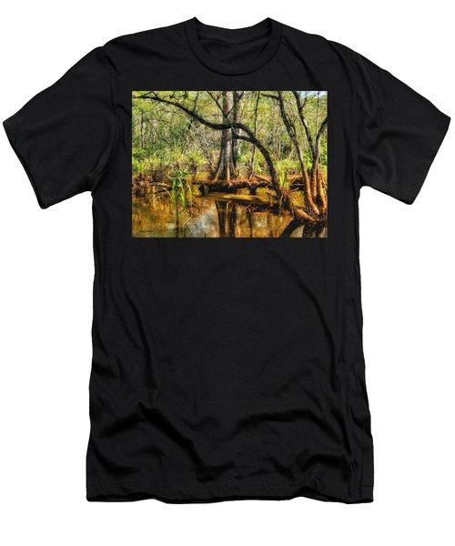 Swamp Life II Men's T-Shirt (Athletic Fit)