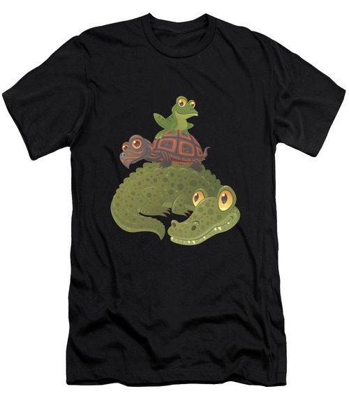 Swamp Squad Men's T-Shirt (Athletic Fit)