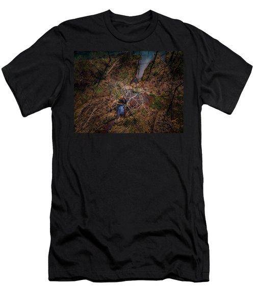 Swamp Tree Men's T-Shirt (Athletic Fit)