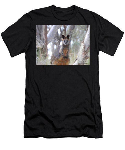 Swamp Wallaby Men's T-Shirt (Athletic Fit)