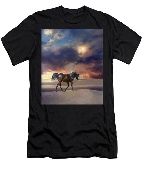 Swan Of Desert Men's T-Shirt (Athletic Fit)