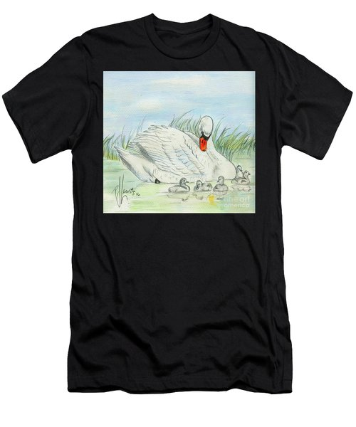 Swan Song Men's T-Shirt (Athletic Fit)