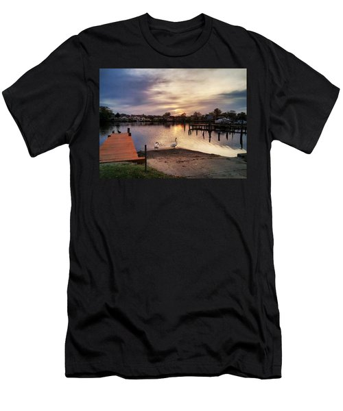 Swans Of Chink Creek Men's T-Shirt (Athletic Fit)
