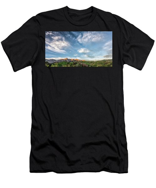 Sweeping Clouds Men's T-Shirt (Athletic Fit)