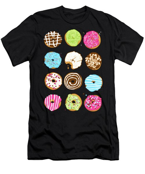 Sweet Donuts Men's T-Shirt (Athletic Fit)