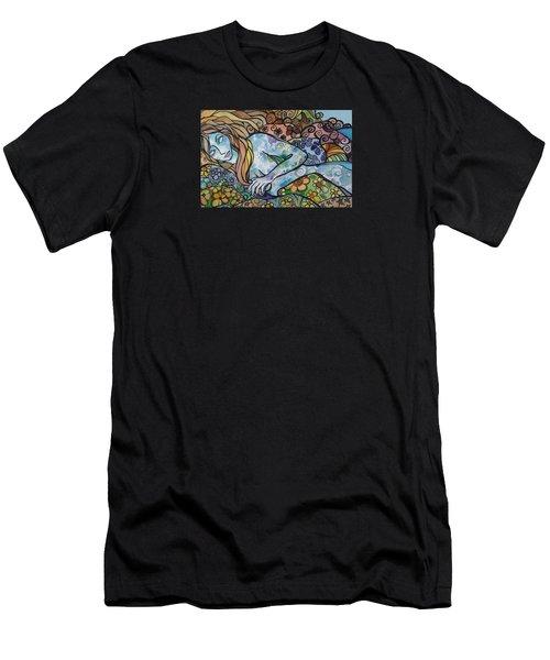 Sweet Dreams Men's T-Shirt (Slim Fit) by Claudia Cole Meek