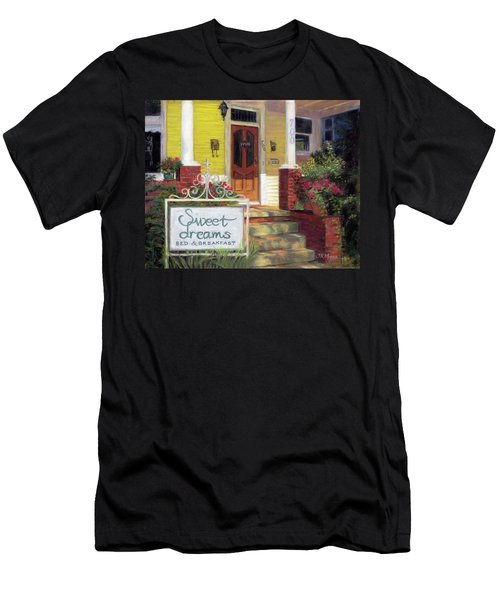 Men's T-Shirt (Slim Fit) featuring the painting Sweet Dreams by Julie Maas