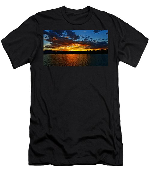 Sweet End Of Day Men's T-Shirt (Athletic Fit)