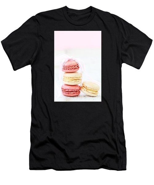 Sweet French Macarons Men's T-Shirt (Athletic Fit)