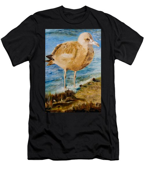 Sweet Gull Chick Men's T-Shirt (Athletic Fit)