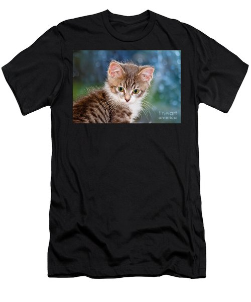 Sweet Kitten Men's T-Shirt (Athletic Fit)