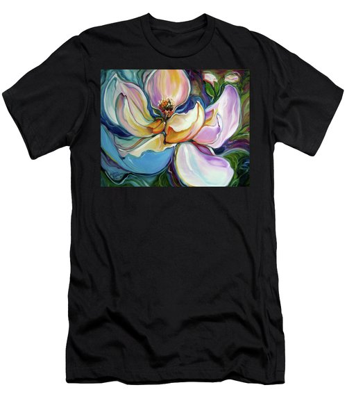 Sweet Magnoli Floral Abstract Men's T-Shirt (Athletic Fit)