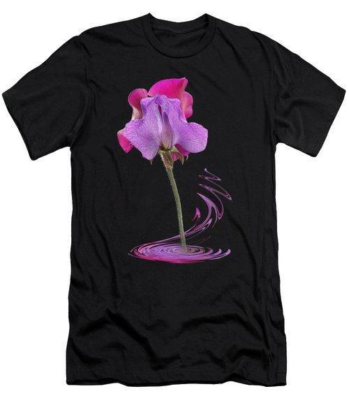 Sweet Pea Carousel Men's T-Shirt (Athletic Fit)
