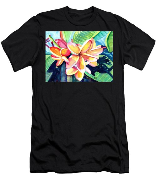 Sweet Plumeria 2 Men's T-Shirt (Athletic Fit)