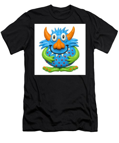 Sweet Spotted Monster Men's T-Shirt (Athletic Fit)