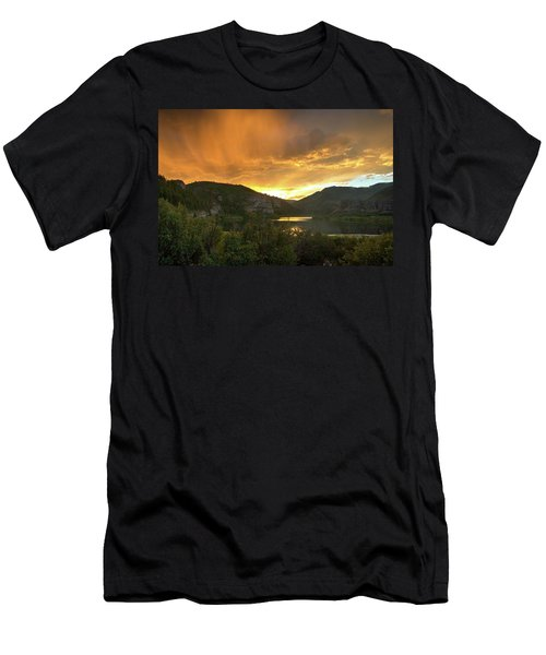 Sweetwater Lake 4 Men's T-Shirt (Athletic Fit)