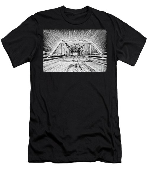 Swing Bridge Blizzard Men's T-Shirt (Athletic Fit)