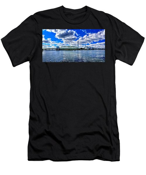 Swing Bridge Heaven Men's T-Shirt (Athletic Fit)