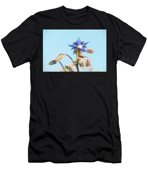 Men's T-Shirt (Athletic Fit) featuring the photograph Swingin On A Star by Brian Hale