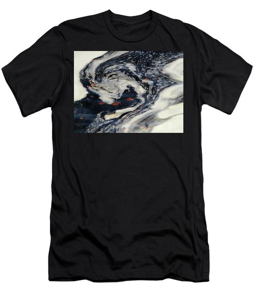 Swirling Current Men's T-Shirt (Athletic Fit)