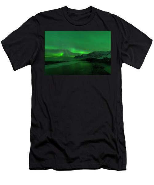 Swirling Skies And Seas Men's T-Shirt (Athletic Fit)