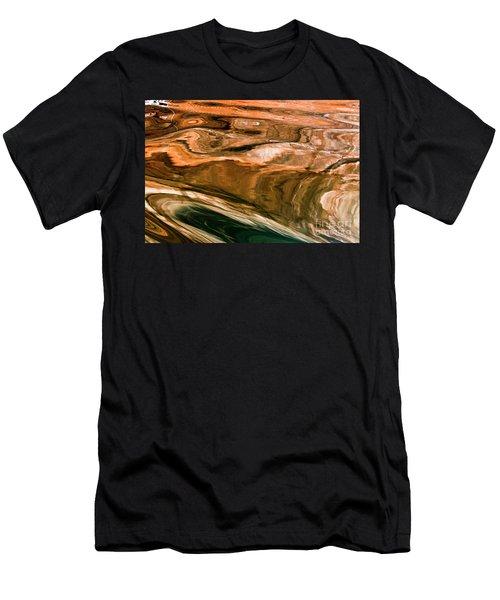 Swirls Men's T-Shirt (Athletic Fit)