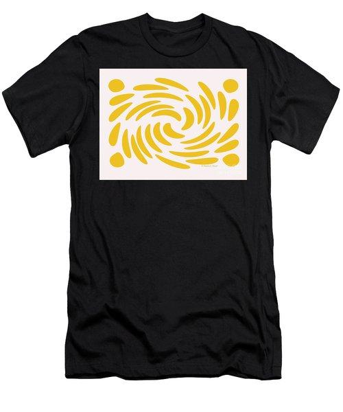 Swirls N Dots S3 Men's T-Shirt (Athletic Fit)