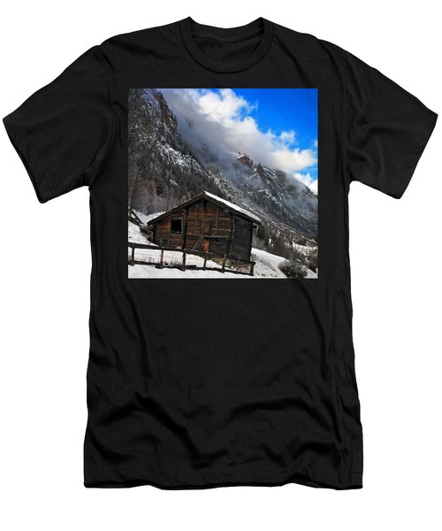 Swiss Barn Men's T-Shirt (Athletic Fit)