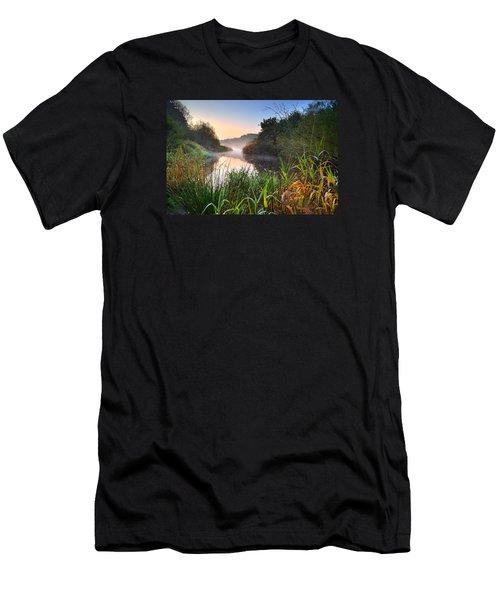 Swiss Valley Reservoir Men's T-Shirt (Athletic Fit)
