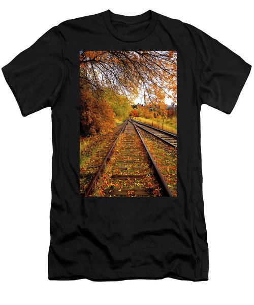 Switching To Autumn Men's T-Shirt (Athletic Fit)