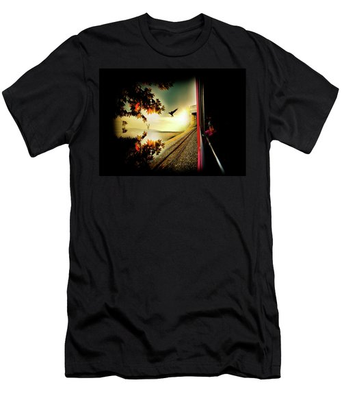 Men's T-Shirt (Athletic Fit) featuring the photograph Switzerland by Lucian Capellaro