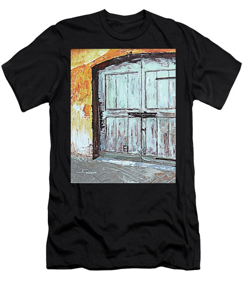 Switzerland Mint Door Men's T-Shirt (Athletic Fit)