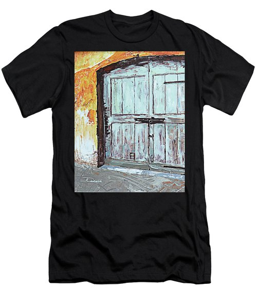 Switzerland Mint Door Men's T-Shirt (Athletic Fit)