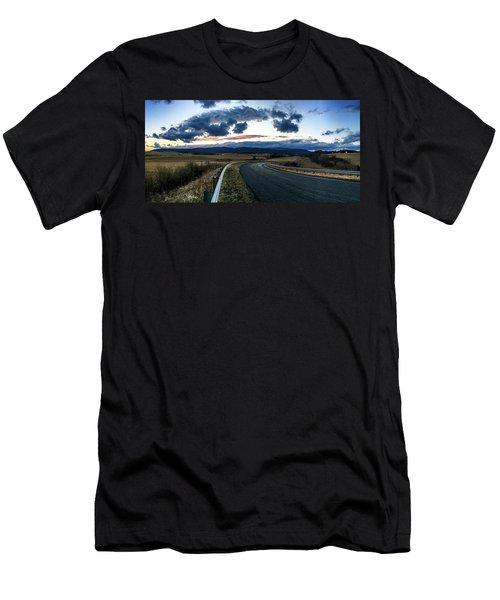 Swoope Virginia Men's T-Shirt (Athletic Fit)