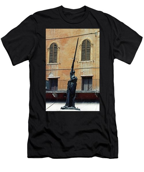 Sword Of Freedom Men's T-Shirt (Athletic Fit)