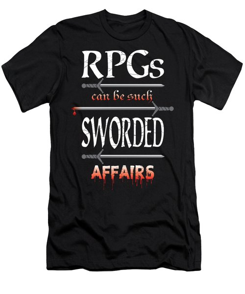Sworded Affairs Men's T-Shirt (Athletic Fit)