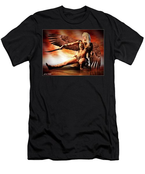 Swords Of The Hawk Woman Men's T-Shirt (Athletic Fit)
