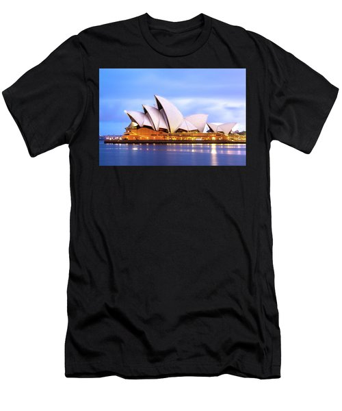 Sydney Opera House At Dawn Men's T-Shirt (Athletic Fit)