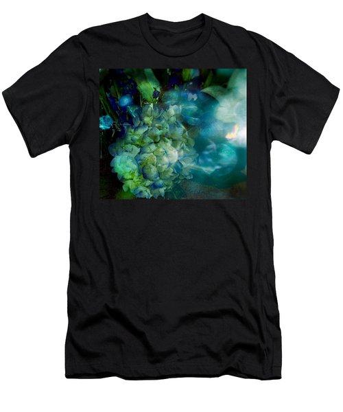 Symphony In Blue Men's T-Shirt (Athletic Fit)
