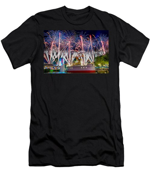 Symphony In The Stars As Seen Around Echo Lake Men's T-Shirt (Athletic Fit)
