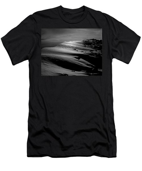 T-213312 Windblown Ice On Humphreys Peak Men's T-Shirt (Athletic Fit)