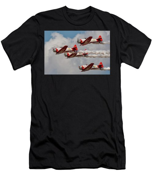 T-6 Texan Men's T-Shirt (Athletic Fit)