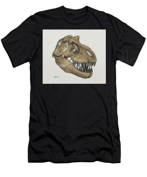 T. Rex Skull 2 Men's T-Shirt (Athletic Fit)