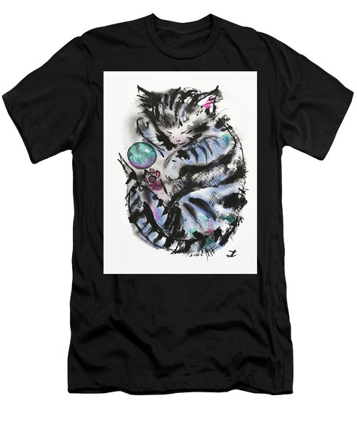 Tabby Dreams Men's T-Shirt (Athletic Fit)