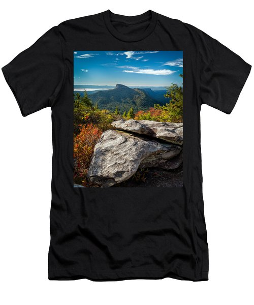 Table Rock Fall Morning Men's T-Shirt (Athletic Fit)