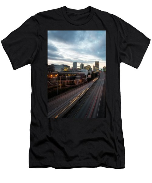 Tacoma Exit Here Men's T-Shirt (Athletic Fit)