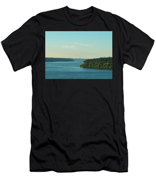 Tacoma Narrows And Commencement Bay II Men's T-Shirt (Athletic Fit)