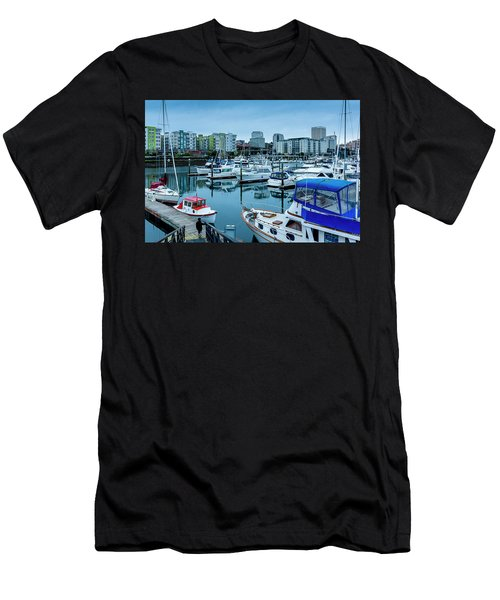 Tacoma Waterfront Marina,washington Men's T-Shirt (Athletic Fit)