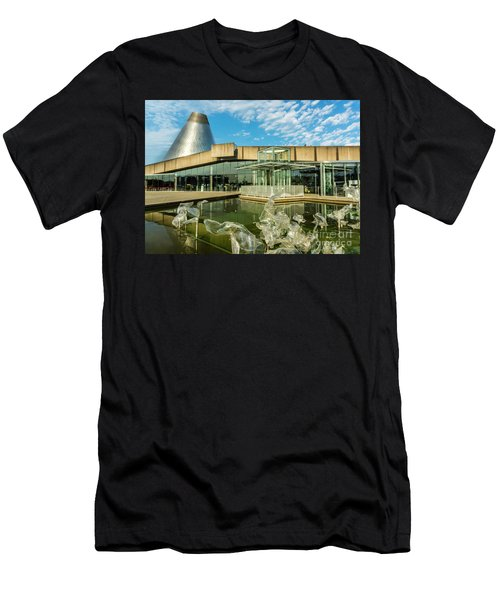 Tacoma's Museum Of Glass  Men's T-Shirt (Athletic Fit)